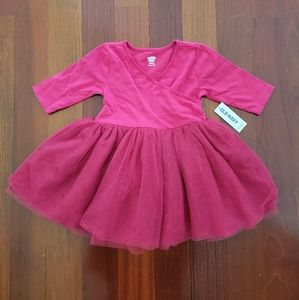 NWT Pink Tutu Body Suit   12-18 Months